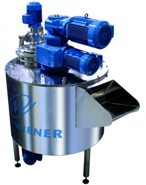 Maszyna do produkcji czekolady z pionowym młynem kulowym