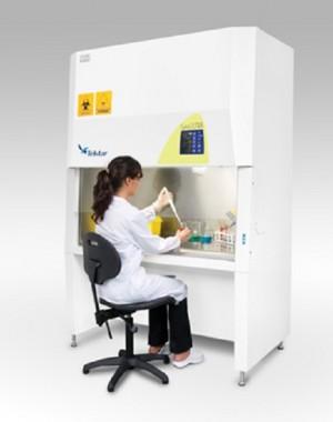 Szafka bezpieczeństwa biologicznego klasy II do przechowywania leków cytotoksycznych