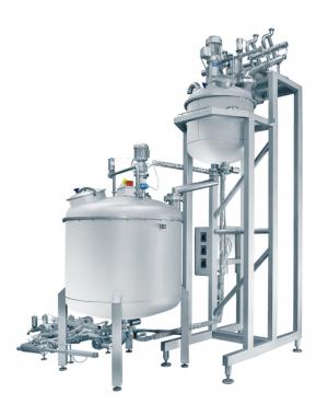 Automatyczny mieszalnik wstępny do produkcji landrynek