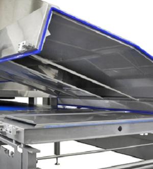 Higieniczny tunel chłodniczy do wyrobów czekoladowych