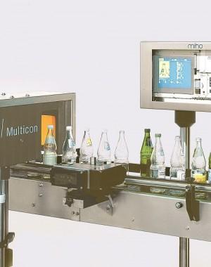 System sortowania pustych butelek pod względem kształtu, koloru i rozmiaru