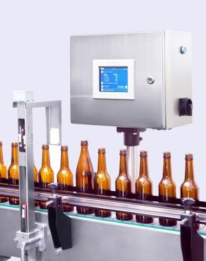 System sortowania pustych butelek pod względem wysokości