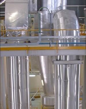Kalcynator fluidyzacyjny
