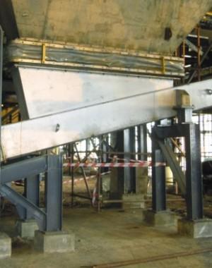 Systemy transportu pyłu i koncentratu odpadów dla hut