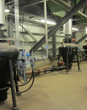 Transport pneumatyczny przemysłowych kotłów na biomasę