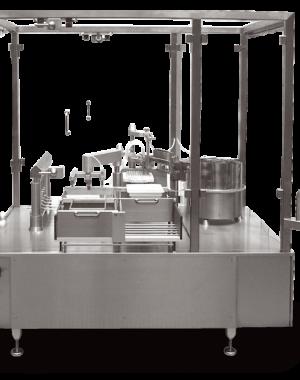 Maszyna napełniająca i zamykająca do ampułkostrzykawek