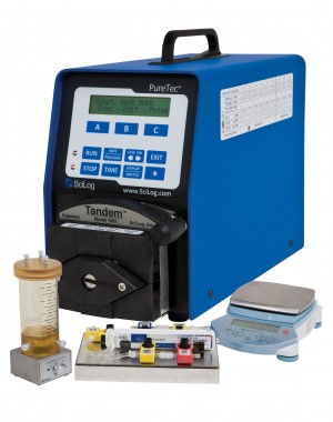 System filtracji o przepływie stycznym dla laboratoriów