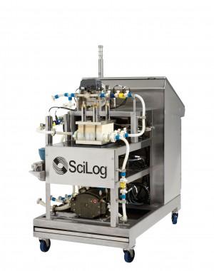 System zautomatyzowanej filtracji o przepływie stycznym (z wykorzystaniem elementów jednorazowego użytku)