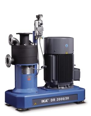 Maszyna do dokładnego dyspergowania pozwalająca wytwarzać drobnocząsteczkowe emulsje i zawiesiny
