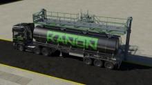 Platforma zapewniająca łatwy i bezpieczny dostęp do cystern kolejowych i drogowych