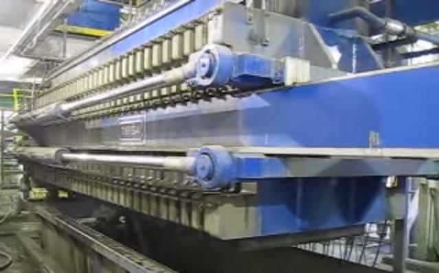 Tefsa high-yield filter press