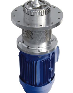 Maszyna do dyspergowania w trybie wsadowym montowana w dnie zbiorników