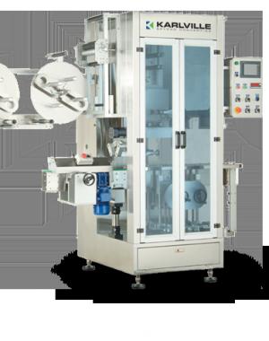 Urządzenie do nakładania rękawów termokurczliwych - wydajność 400 szt./minutę