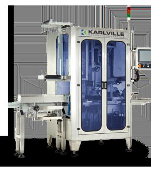 Urządzenie do nakładania rękawów termokurczliwych - wydajność 600 szt./minutę