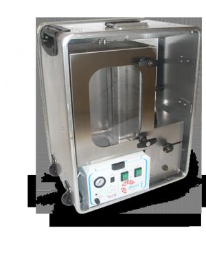 Laboratoryjny system obkurczania z wbudowanym generatorem pary