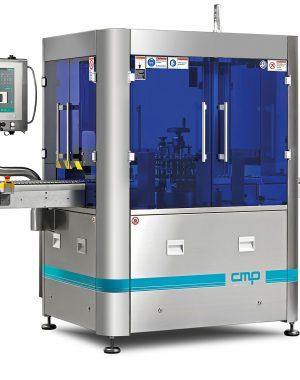 Niewielka automatyczna maszyna do inspekcji ampułek, fiolek lub pojemników