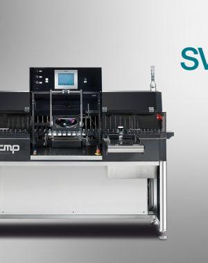 Półautomatyczna maszyna do inspekcji ampułek, fiolek lub pojemników