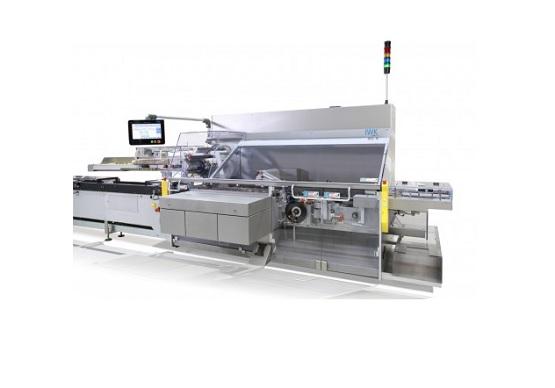Automatyczna kartoniarka przeznaczona dla przemysłu farmaceutycznego i kosmetycznego