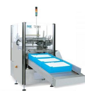 Maszyna do wyładunku i podawania tub