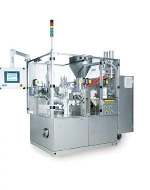 Automatyczna napełniarka tub do pracy w średnim i wysokim zakresie wydajności