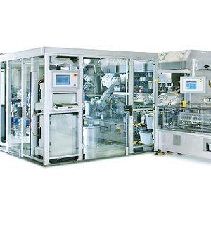 Automatyczna napełniarka tub do pracy z wysoką wydajnością