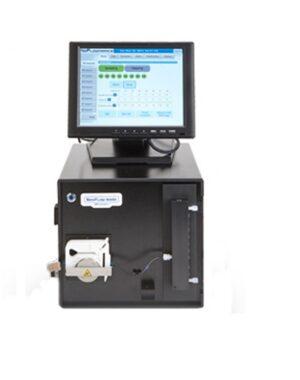 System zautomatyzowanego pobierania próbek dla bioprocesów w większej skali