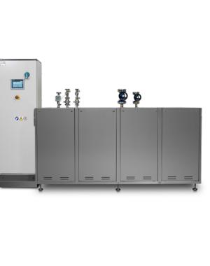 Instalacja CIP dla zbiorników na towary sypkie/ciecze