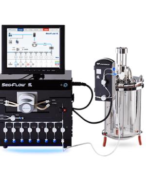 Całkowicie zautomatyzowany system do pobierania próbek z bioprocesów