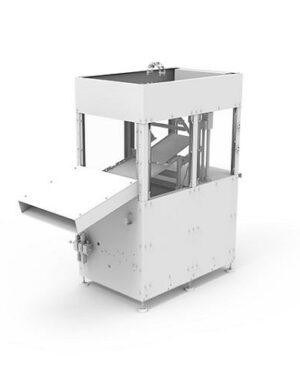 Maszyna pakująca do czekoladowych figurek dla produkcji w mniejszej skali