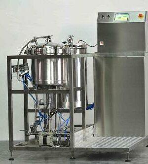 Maszyna do ekstrakcji związków z roślin leczniczych