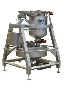 Automatyczna naważarka i mieszalnik składników produktów cukierniczych