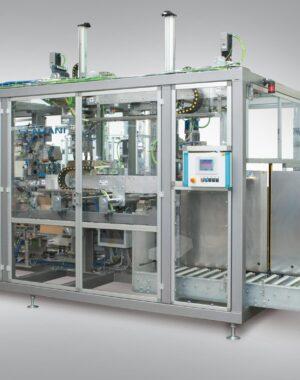 Maszyna pakująca do woreczków typu pouch i innych opakowań