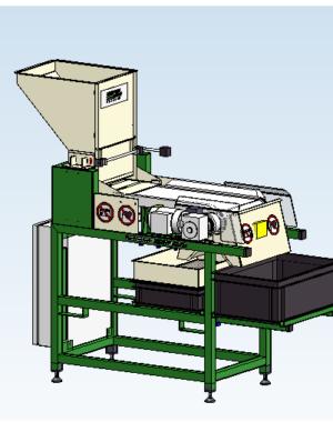 Magnetyczny separator nasion