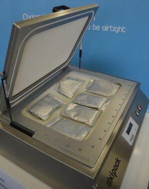 Tester szczelności do orzechów pakowanych w torebki i innych produktów